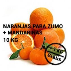 5 KG. ZUMO-5 KG. MANDARINA +1 KG. REGALO
