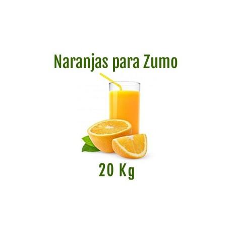 NARANJAS PARA ZUMO DE 20 KG